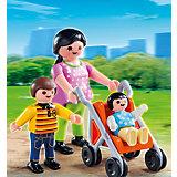 Экстра-набор: Мама с детьми, PLAYMOBIL