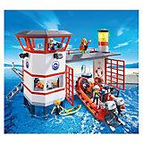 PLAYMOBIL 5539 Береговая охрана: Береговая станция с маяком