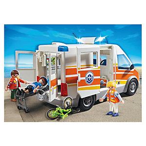 PLAYMOBIL® 5541 Rettungswagen mit Licht und Sound