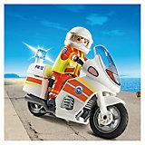 PLAYMOBIL 5544 Береговая охрана: Мотоцикл первой помощи с мигалкой