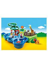 PLAYMOBIL® 6792 1-2-3: Mein Plansch- und Zooköfferchen