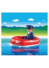 PLAYMOBIL® 6795 1-2-3: Mann im Schlauchboot