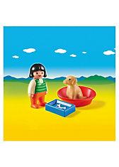 PLAYMOBIL® 6796 1-2-3: Mädchen mit Hund