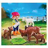 PLAYMOBIL 4785 Дополнение: Девочка с козлятами