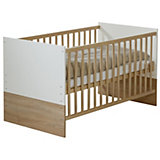 Kinderbett, Gabriella, Sonoma Eiche/Weiß, 70 x 140 cm
