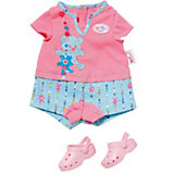 BABY born Puppenkleidung Shorty Pyjama mit Clogs, 43 cm
