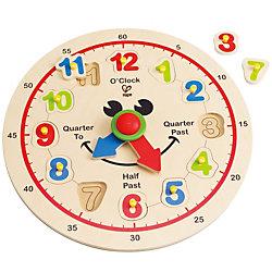 """Игрушка деревянная """"Счастливые часы"""", Hape"""