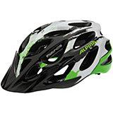 ALPINA Fahrradhelm Mythos 2.0 black-white-green 57-62