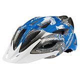 ALPINA Fahrradhelm Skid 2.0 darksilver-cyan-white