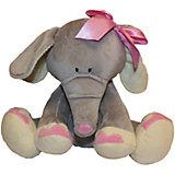 Слоник с розовым бантиком, 25 см.,Gulliver