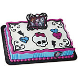 Tortendeko Monster High Bilderrahmen 3-tlg.