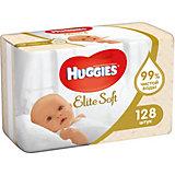 Детские влажные салфетки Huggies Elite Soft 2х64, 128 шт.