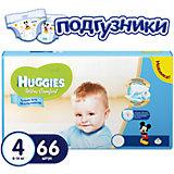 Подгузники Huggies Ultra Comfort  4 Mega Pack для мальчиков, 8-14 кг, 66 шт.
