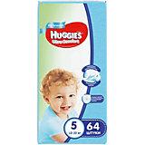 Подгузники Huggies Ultra Comfort для мальчиков Giga Pack (5) 12-22 кг, 64 шт.