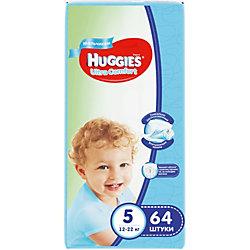 ���������� Huggies Ultra Comfort ��� ��������� Giga Pack (5) 12-22 ��, 64 ��.