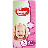 Подгузники Huggies Ultra Comfort 5 Giga Pack для девочек, 12-22 кг, 64 шт.