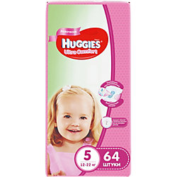 ���������� Huggies Ultra Comfort ��� ������� Giga Pack (5) 12-22 ��, 64 ��.