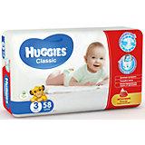 Подгузники Huggies Classic (3) Jumbo Pack 4-9 кг, 58 шт.