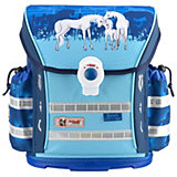 McNeill Schulranzen-Set ERGO Light 912, 6-tlg. Horses