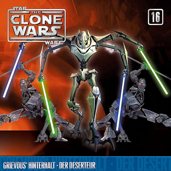 CD The Clone Wars 16 - Grievous Hinterhalt/Der Deserte