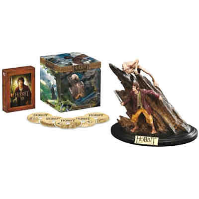 BLU-RAY Der Hobbit - Extended Edition (3D + 2D Vers. inkl. Statue)
