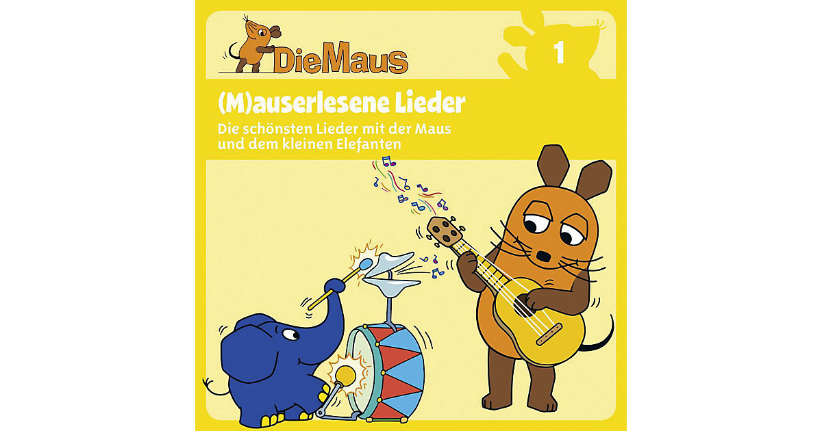 CD Die Sendung mit der Maus 01 - (M)auserlesene