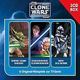 CD The Clone Wars - Hörspielbox Vol. 1, 3 Audio CDs