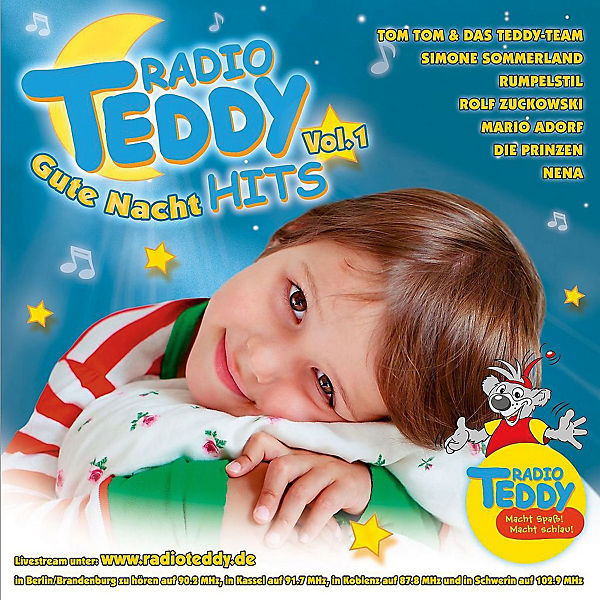 CD Radio Teddy - Gute Nacht Hits Vol.1