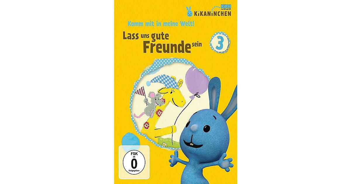 DVD Kikaninchen 03 - Lass uns gute Freunde sein
