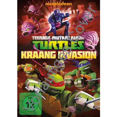 DVD Teenage Mutant Ninja Turtles - Kraang Invasion