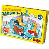 HABA 1, 2, Puzzelei - Zahlen 1 - 10