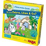 HABA Meine ersten Spiele - Wo sind Zebra, Löwe & Co