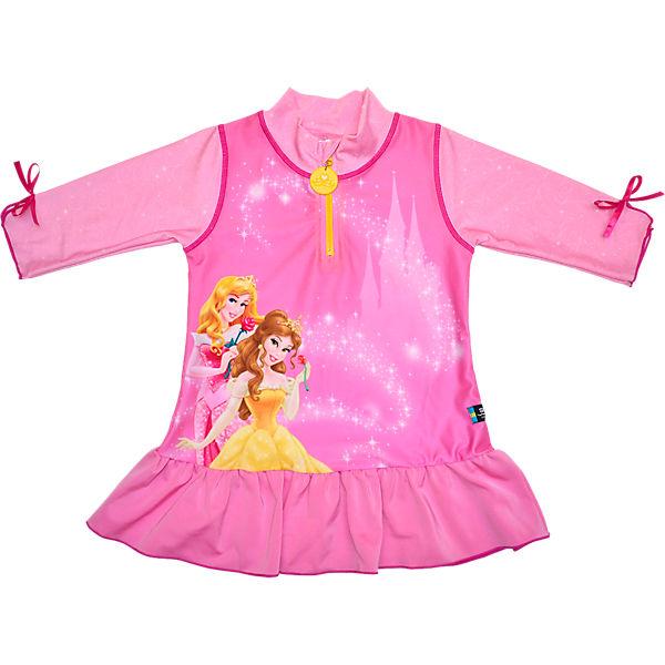 baby badeshirt mit uv schutz pink disney princess mytoys. Black Bedroom Furniture Sets. Home Design Ideas