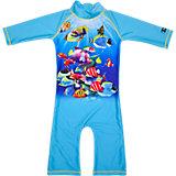 SWIMPY Baby Badeanzug mit UV-Schutz, türkis