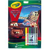 """Раскраска+головоломки """"Тачки"""", Crayola"""