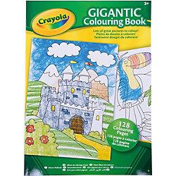 Большая раскраска, Crayola