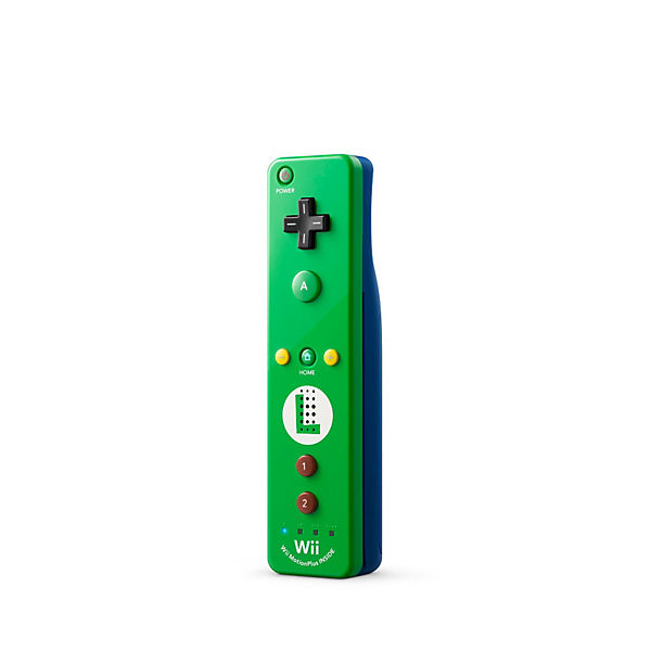 Wii U Remote Plus Luigi Edition, grün