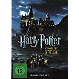 DVD Harry Potter Box Set - The Complete Col. (8 Discs)