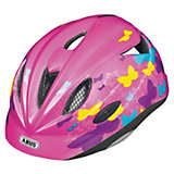 ABUS Fahrradhelm Rookie Butterfly pink