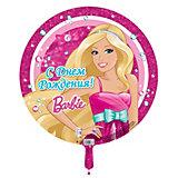 """Шар надувной 18' """"С Днём рождения!"""" Barbie"""