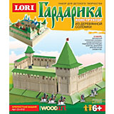 "Конструктор из серии ""Гардарика"" Крепостная башня, LORI"