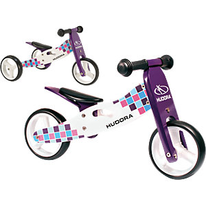 wooden running-tricycle purple