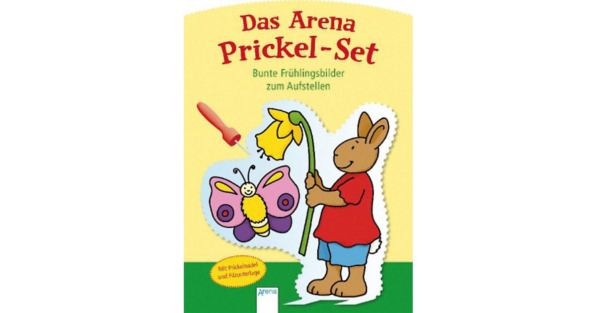 Buch - Das Arena Prickel-Set. Bunte Frühlingsbilder zum Aufstellen
