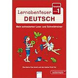 Lernabenteuer Deutsch: Vorschule, Klasse 1, Die kleine Fee Ameli und der kleine Pirat Pat