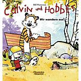 Calvin und Hobbes:  Wir wandern aus!