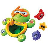 """Развивающая игрушка """"Плавающая черепаха"""", со звуком, Vtech"""