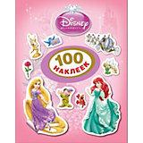"""100 наклеек """"Принцесса"""", Принцессы Дисней"""