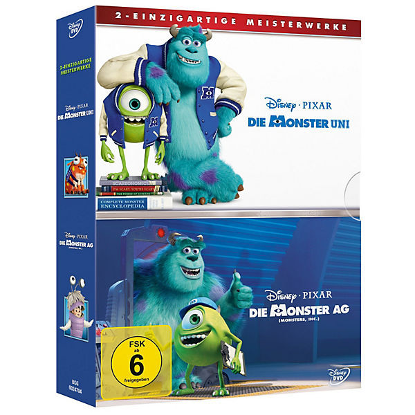 BLU-RAY Disney's - Die Monster Uni & Monster AG