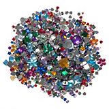 Schmucksteine Ganzjahr farbig sortiert, 2.000 Stück