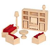 Puppenhausmöbel Wohnzimmer Holz